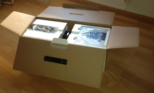 caja del Zeppelin Air