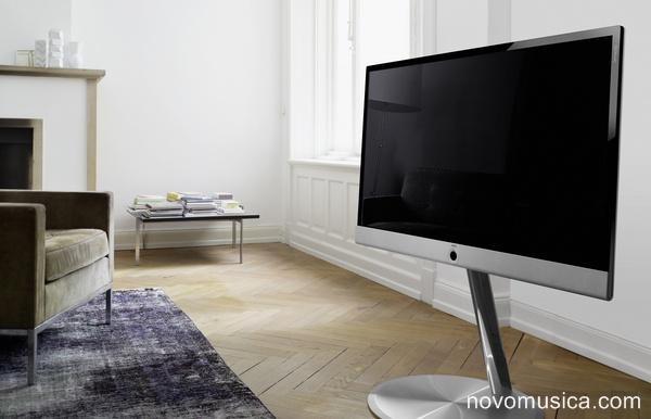 Mueble tv con altavoces