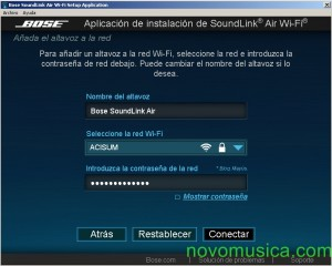 altavoz airplay bose soundlink air