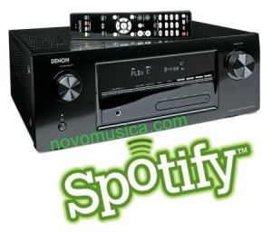 Amplificador Denon con Spotify