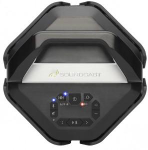 Soundcast VG7 Altavoz inalámbrico de exterior vista cenital