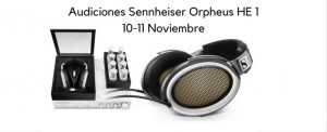 Sennheiser HE1 auriculares Orpheus